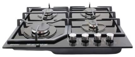 Встраиваемая варочная панель газовая Ginzzu HCG-468 Black