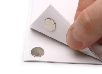 Неодимовый магнит Forceberg диск 10х1мм с клеевым слоем, 30шт