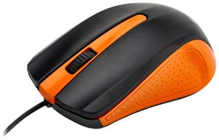 Проводная мышка ExeGate SH-9030BO Orange/Black