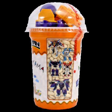 Воздушный рис Вкусномама Roboman с игрушкой  70 г