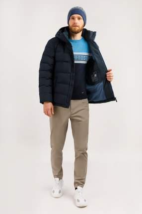 Куртка мужская Finn Flare W19-42006 синяя XL