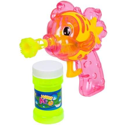 """Пистолет с мыльными пузырями """"Наше Лето. Рыбка"""", 50 мл, арт. 668"""