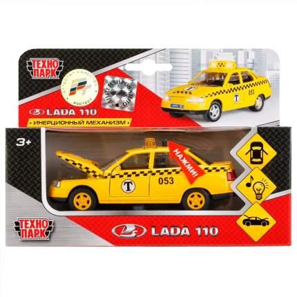 Машина Технопарк Lada2110 Такси со световыми и звуковыми эффектами