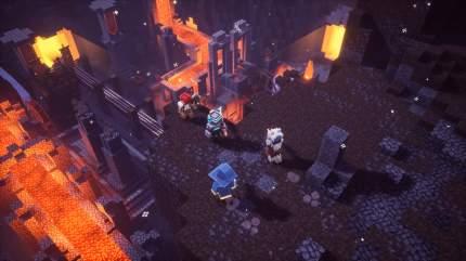 Игра Minecraft Dungeons для Xbox One