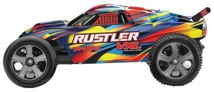 Радиоуправляемая машина TRAXXAS Rustler VXL 1/10 2WD TSM