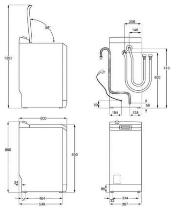 Стиральная машина Zanussi ZWY 61025 DI