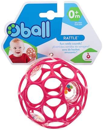 Прорезыватель-погремушка Oball Гремящий мячик