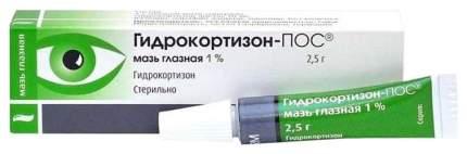 Гидрокортизон-ПОС мазь 1 % 2.5 г