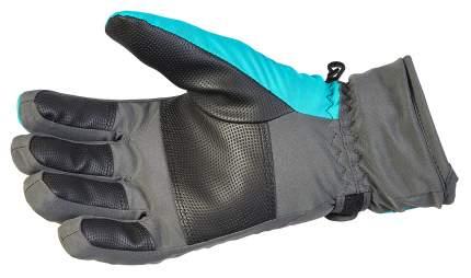 Перчатки женские Norfin Women Windstopper Deep Blue 2, голубые/серые, M