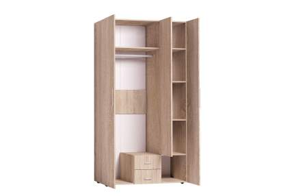 Платяной шкаф Hoff Канкун 80327584 120х230х57,9, дуб сонома