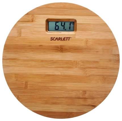 Весы напольные Scarlett SC-BS33E061 Бежевый
