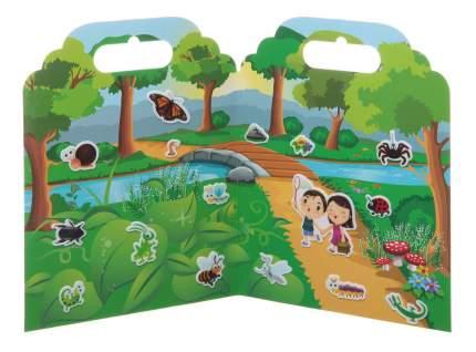 Набор наклеек нано-стикер мир насекомых, Bondibon 19x24 см