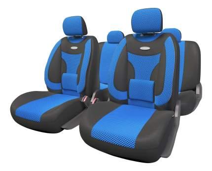 Комплект чехлов на сиденья Autoprofi Extra Comfort ECO-1105 BK/BL (M)