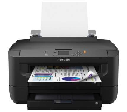 МФУ Epson WorkForce WF-7110DTW Струйный, Черный, Цветная, А3