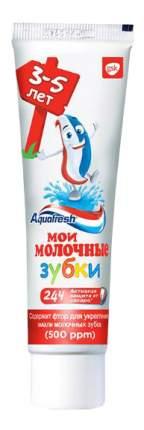 """Aquafresh зубная паста детская """"Мои молочные зубки"""" 3-5 лет, 50 мл"""