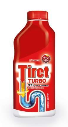 Средство для очистки труб и сливов Tiret turbo 500 мл