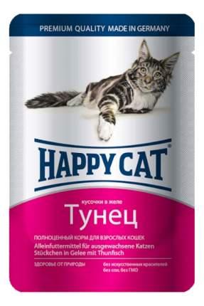 Влажный корм для кошек Happy Cat, с тунцом в желе, 22шт по 100г