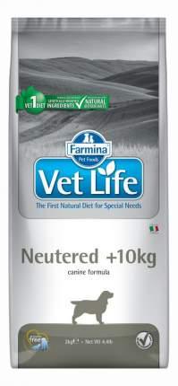 Сухой корм для собак Farmina Vet Life Neutered, для стерилизованных, курица, 2кг
