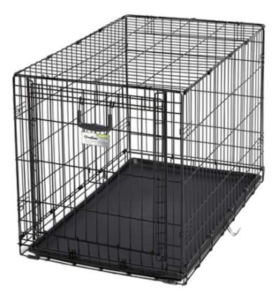 Клетка для собак Ovation 1 дверь 94,6х58,4х63,5hсм, черная