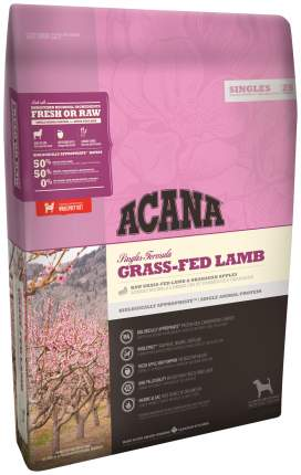 Сухой корм для собак ACANA Singles Grass-Fed Lamb, ягненок, 0,34кг