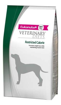 Сухой корм для собак Eukanuba Veterinary Diets Restricted Calorie, индейка, курица, 12кг