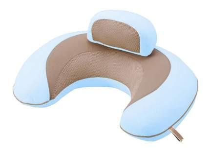 Подушка Carmate 3way Cushion Macaron голубая