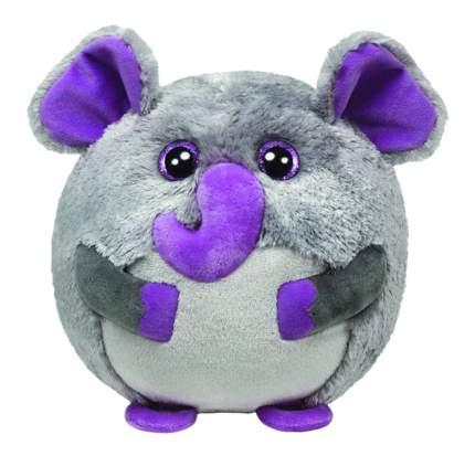 Мягкая игрушка TY Beanie Ballz Слон Thunder 20 см