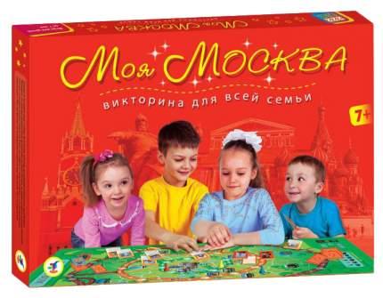 Семейная настольная игра Дрофа Викторина Моя Москва 2639