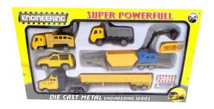 Набор машин строительной техники Little Ant Super Powerfull BA-60172A