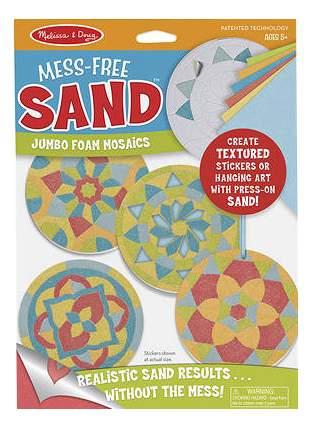 Мозаика Melissa & Doug Набор пенных стикеров Мозаика