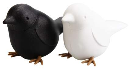 Набор для специй Qualy Sparrow QL10232-WH-BK