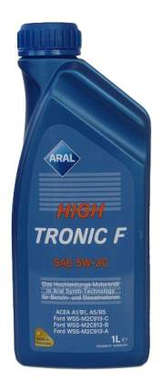 Моторное масло Aral HighTronic F 5W-30 1л