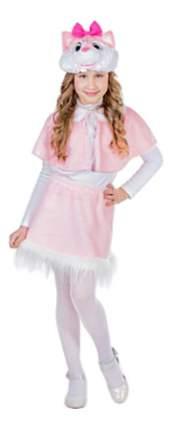 Карнавальный костюм Карнавалия Кошечка розовая рост 122-128 см (4-7 лет)