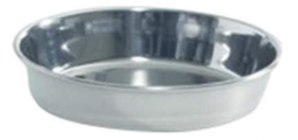 Одинарная миска для кошек Beeztees, сталь, серебристый, 0.1 л