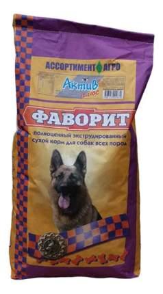 Сухой корм для собак Фаворит Актив Плюс, все породы, для активных, мясо, 13кг