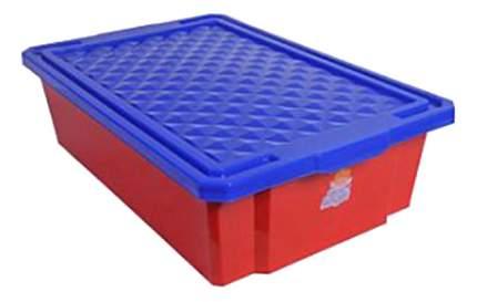 Ящик для хранения игрушек Plastic Republic 30 л красный