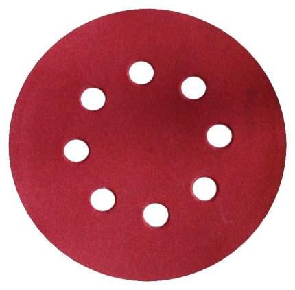 Круги шлифовальные с отверстиями, алюминий-оксидные, 125 мм, 5 шт, Р 150 КУРС 39787