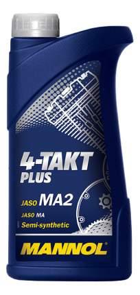 Моторное масло Mannol 4-Takt Plus 10W-40 1л