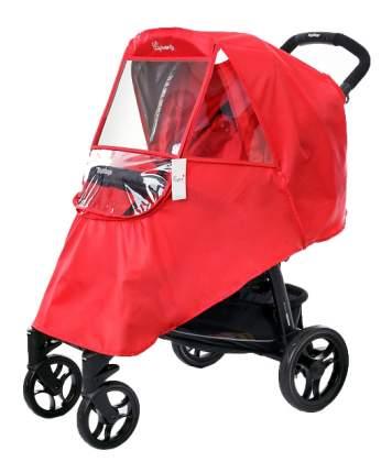 Дождевик на детскую коляску Esspero Window red