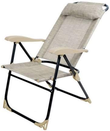 Кресло-шезлонг НИКА 2 складное К2 Песочный