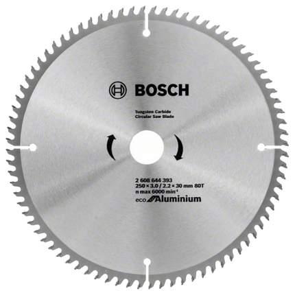 Пильный диск по дереву Bosch ECO ALU/Multi 250x30-80T 2608644393