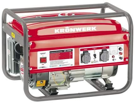 Бензиновый генератор KRONWERK KB 2500 94691