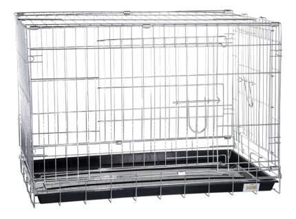 Клетка для собак KREDO металл, 69x108x78см