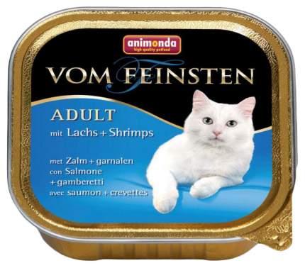 Консервы для кошек Animonda Vom Feinsten Adult, птица, лосось, морепродукты, 100г