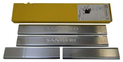 alu-frost Накладки на внутренние пороги для renault sandero ii (2013-)