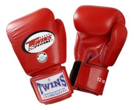 Боксерские перчатки Twins Special BGVL-3 красные 12 унций