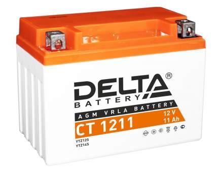Аккумулятор автомобильный Delta CT 1211 11 Ач