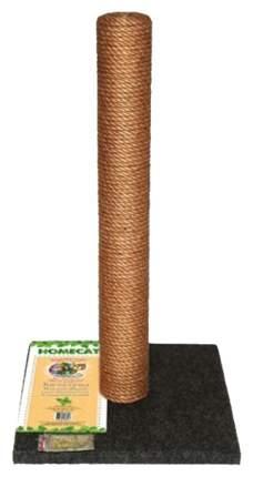 Когтеточка Homecat, размер 41х41х63см., серый