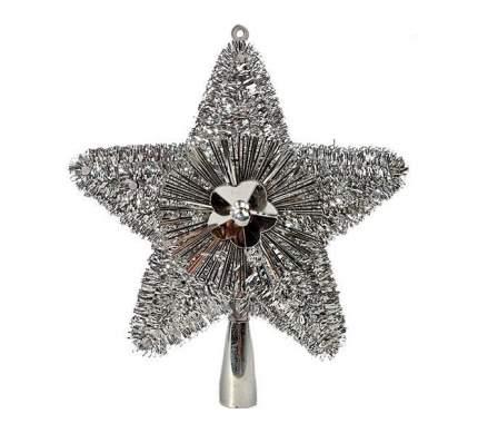 Kaemingk Верхушка Звезда 23 см серебряная 410491