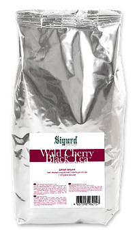Чай черный Sigurd wild cherry дикая вишня 200 г